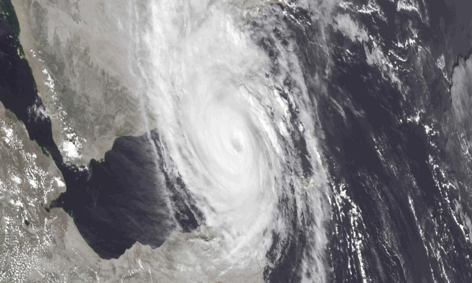 Satellite image of Cyclone Chapala. Photo: Vice
