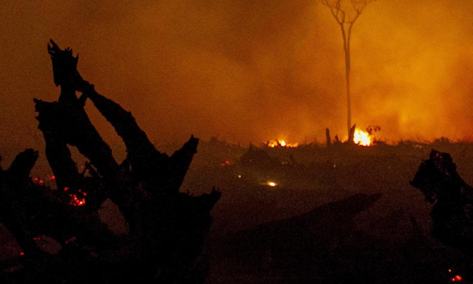 Indonesia's forest fires were particularly bad this year and El Niño was likely a contributing factor. Photo: Fully Handoko,EPA)
