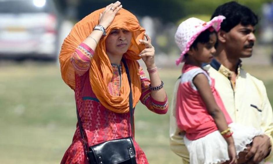 Extreme heat. Photo: Hindustan Times