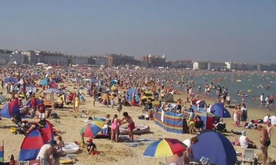 Sizzling hot summers may be the norm in Europe in the coming years. Photo: Duckorange