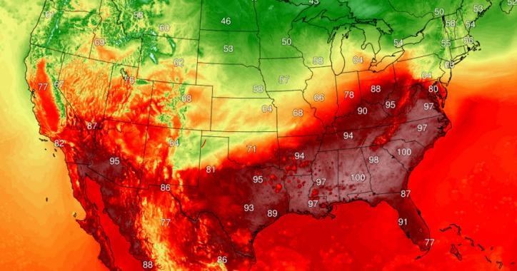 Southeast heat wave signals climate change as all time October records fall.