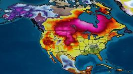 warm winter temperatures across the US