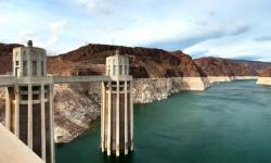 Colorado River water held back by the Hoover Dam. Image: Shutterstock/Rocket Photos - HQ Stock