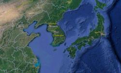 Yonaguni, Okinawa, Japan location. Image: Google, TW