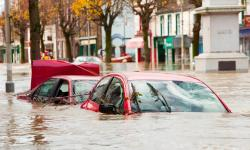 Cockermouth, Cumbria in November 2009. Analysis shows the floods were unprecedented in key respects. Photo: Ashley Cooper, Barcroftmedia