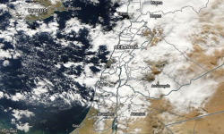 Satellite image acquired December 13, 2016. Image: NASA Terra/MODIS