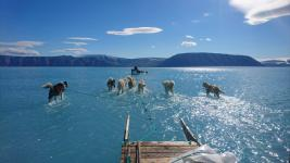 Climate change is causing ice sheet and glacier melt