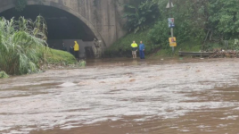 The storm wreaked havoc throughout the Durban area, 23 April 2019. Credit: Twitter